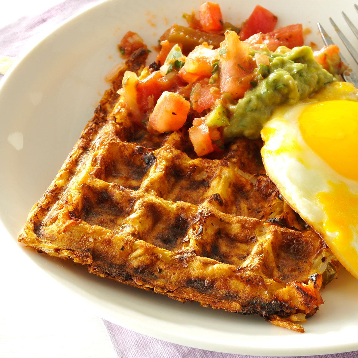 Hash Brown Waffles; How to Make Hash Browns with a Waffle Iron