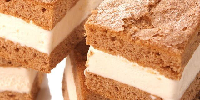 snickerdoodle ice cream sandwiches, dessert recipes